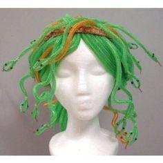 Deco Mesh Tubing Monster Wig