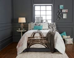 Kingston Faux Leather Queen Bed at Big Lots.   Decorating ...