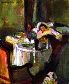 The Sick Woman Henri Matisse - 1899