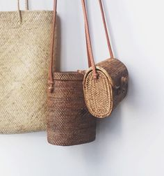 Tendance Sac 2017/ 2018 : Our favorite woven bags in every shape and style perfect for summer adventuring