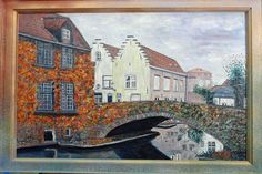 Peerdebrug, Brugge, olieverf, albums van trebla