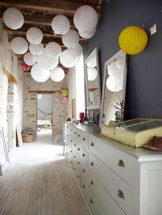 Aurélie Lecuyer's home - des lampions à mon plafond