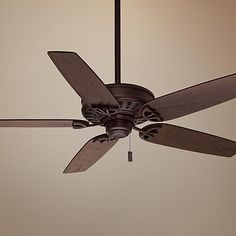 """54"""" Casablanca Concentra™ Brushed Cocoa Ceiling Fan"""