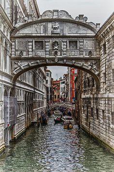 Puente de los suspiros - Venecia Septiembre 2013 / Bridge of Sighs - Venice September 2013