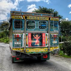 https://flic.kr/p/ffSxeY   Colombia   We went around this bus twice until I finally managed to frame a good image.