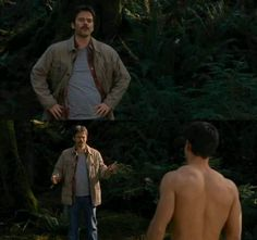 """What the hell are you doing?  Jacob, put your clothes back on."" ~ Charlie BD2"