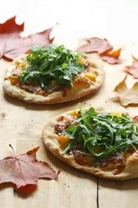 Smoked Duck Pizzas
