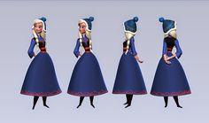 Frozen: Alternative Desing. (Anna) (x)