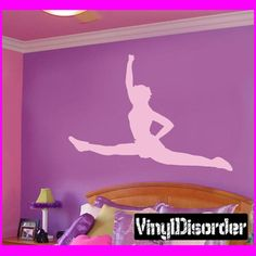 Cheer stickers on pinterest cheerleading cheers for Cheerleader wall mural