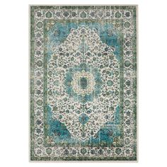Keep high-traffic areas—like your kitchen or mudroom—looking elegant with this Persian-inspired rug, showcasing a distressed design for heirloom-worthy appeal.