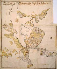 Helsinki 1700-luvun alussa