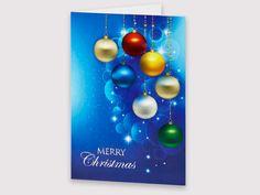 Colourful Christmas Baubles - AC17008 | Auscard