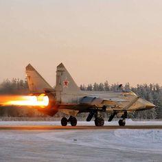 """""""Russian Mig-31                                                                                                                                                                                 Mais"""