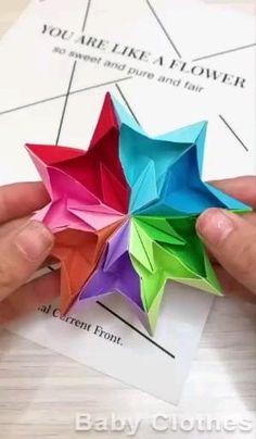 Paper Crafts Origami, Paper Crafts For Kids, Diy Paper, Paper Art, Craft With Paper, Diy Crafts Hacks, Diy Crafts For Gifts, Diy Arts And Crafts, Wood Crafts