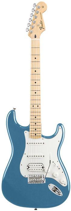 Fender Standard Stratocaster HSS Lake Placid Blue Maple #fenderguitars