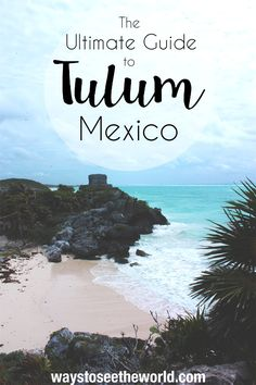 Everything you'll need to know when travelling to Tulum, Mexico. Hotels for every budget and all the best activities. From cenotes to Mayan Ruins, Yoga to shopping and a caribbean beach straight of your dreams. Tulum has it all and I'm telling you all about it. Check out The Ultimate Guide to Tulum, Mexico.