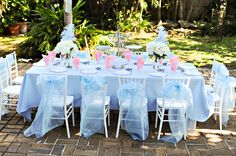 Cinderella Tea Party ideas for KME's b-day