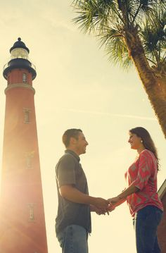Ponce Inlet Lighthouse Engagement Shoot Jacksonville Florida FL Wedding Photography shoot photo photos session picture pictures beautiful unique whimsical www.alexandcammy.com
