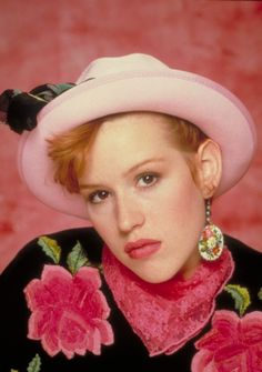 Pretty in Pink (1986) - Molly Ringwald as Andie Walsh, directed by Howard Deutch, written by John Hughes.