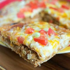 This copy cat Taco Bell Mexican Pizza is even better than the original. They are super easy to throw together and taste totally delicious.