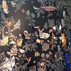 Papier peint ambiance forêt enchantée