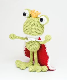 Fred the Frog Prince A special Dendennis amigurumi design for Stylecraftyarns