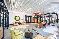 Opera Software Unveils New Open-Concept Office Space Interior Design Software, Office Interior Design, Office Interiors, Corporate Interiors, Open Concept Office, Opera Software, Navigateur Web, Design Furniture, Simple Furniture