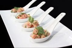 asian salmon tartare #recipes