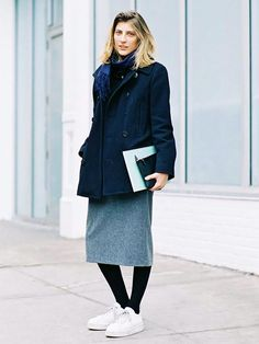 6 Minimalist Outfit Ideas Perfect for Cold Weather via @WhoWhatWear