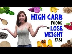 11 carbs you should eat to lose weight fast - Diet Doctors Loose Weight, How To Lose Weight Fast, Weight Gain, Proper Nutrition, Fitness Nutrition, High Carb Foods, High Carbs, Healthy Foods, Low Carb