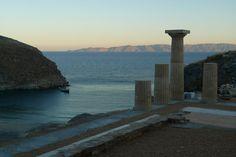 Kea (Tzia) island and opposite Makronissos - close to Athens