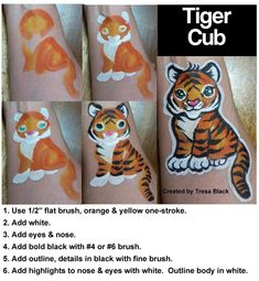 Face Painting Tips, Face Painting Tutorials, Belly Painting, Face Painting Designs, Facepaint Cat, Kitty Face Paint, Animal Nail Designs, Festival Paint, Hand Doodles