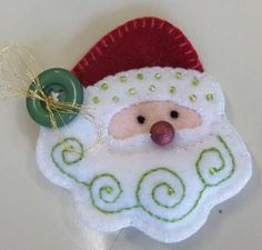 Christmas crafts : Felt Santa