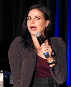 Lana Parrilla at Creation's OUAT Convention in Schaumburg, IL - 5.1.2016