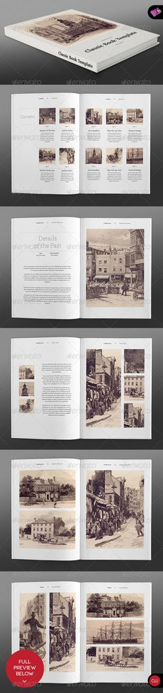 Photo Album vol. 5 – Landscape InDesign Template | Design ...