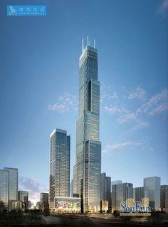R Guangdong Tower, 468m aizhu, Cantón, de la República Popular China.