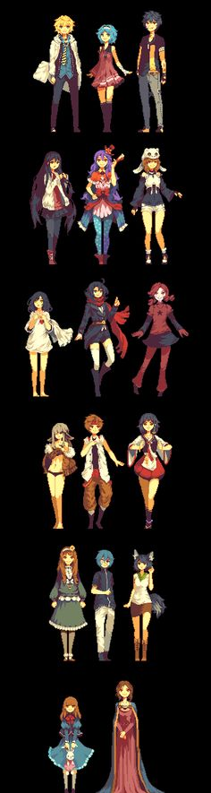 August 2014 sprite requests by andrae0 on deviantART
