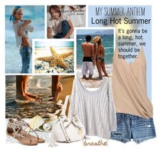 """""""Long Hot Summer-Summer Anthem"""" by clare-738 ❤ liked on Polyvore featuring jared, AG Adriano Goldschmied, Haider Ackermann, Rachel Comey, WALL, MICHAEL Michael Kors, BP. and Sydney Evan"""