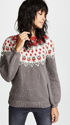 Mes DemoisellesCharlene Knitted Sweater $430.00 Fashion Group, Female Fashion, We Wear, How To Wear, China Fashion, All About Fashion, Everyday Fashion, Pretty In Pink, Lifestyle Blog