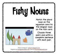 Fishy Nouns -- Freebie