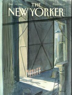 Jean-Jacques Sempé The New Yorker Digital Edition : Dec 12, 1988