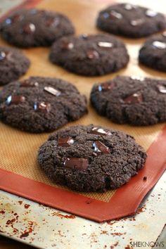 Paleo Double Chocolate Breakfast Cookies @SheKnows #paleo #lowcarb #glutenfree