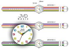 Náramkové hodinky JVD basic W58.1 - Dekorácie do bytu