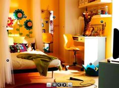 Chic Dorm Room Designs By IKEA