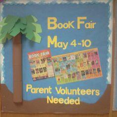 Spring Book Fair 2012 (1) Luau theme