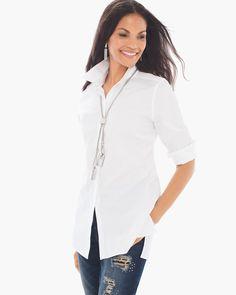 Cotton Lena Shirt - Chico's