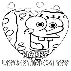 happy valentines day coloring pages - Google Search