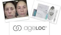 En solo 10 minutos la piel limpia, hidratada, iluminada, nutrida y mas joven!! Ciencia AGE LOC es el candado de la edad.
