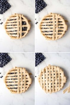 Deliciously sweet and juicy with a buttery, flaky crust, nothing quite compares to a classic Homemade Blueberry Pie! It's the ultimate summer dessert with plump, fresh or frozen blueberries for an easy blueberry pie filling and my perfect pie crust that wins every time! #pie #blueberries #blueberrypie #best #recipe #easy #fresh #frozen #fromscratch #homemade Best Blueberry Pie Recipe, Homemade Blueberry Pie, Blueberry Recipes, Homemade Pie, Best Manicotti Recipe, Lattice Pie Crust, Perfect Pie Crust, Cream Pie Recipes, Frozen Blueberries