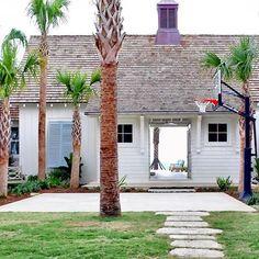 beach house exterior : design by collins interiors